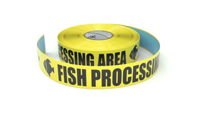 Food: Fish Processing Area - Inline Printed Floor Marking Tape