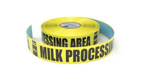 Food: Milk Processing Area - Inline Printed Floor Marking Tape