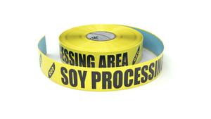 Food: Soy Processing Area - Inline Printed Floor Marking Tape