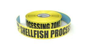 Food: Shellfish Processing Zone - Inline Printed Floor Marking Tape