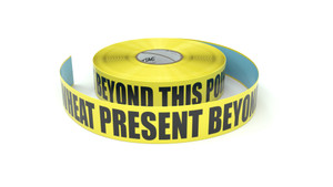 Food: Wheat Present Beyond This Point - Inline Printed Floor Marking Tape