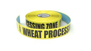 Food: Wheat Processing Zone - Inline Printed Floor Marking Tape