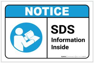 Notice: SDS information Inside ANSI - Label