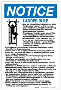 Notice: Ladder Rule - Label