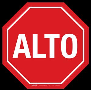 ALTO- Basic Floor Sign