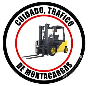 Cuidad, Tráfico de Montacargas Floor Sign