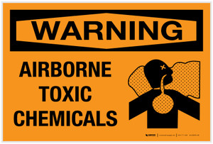 Warning: Airborne Toxic Chemicals - Label