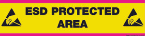 ESD Protected Area - Floor Sign