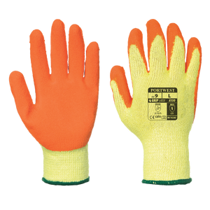 3 Yellow GLOVE GUARD CLIP FOR WORK SAFETY with patented safety break away Fad.