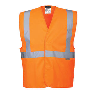 Hi-Vis 1 Band Vest, Orange