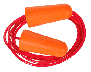 Portwest EP08 Corded PU Foam Ear Plug (200 pairs)