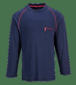 Portwest FR01 Flame Resistant Bizflame Crew Neck T-Shirt