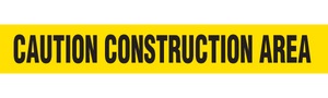 CAUTION CONSTRUCTION  - Barricade Tape (Case of 12 Rolls)