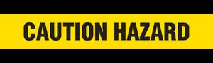 CAUTION HAZARD  - Barricade Tape (Case of 12 Rolls)