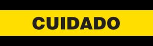 CUIDADO  - Barricade Tape (Case of 12 Rolls)