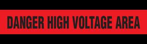 DANGER VOLTAGE  - Barricade Tape (Case of 12 Rolls)