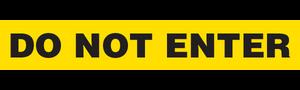 DO NOT ENTER  - Barricade Tape (Case of 12 Rolls)