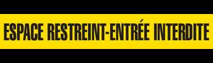 ESPACE RESTREINT   - Barricade Tape (Case of 12 Rolls)