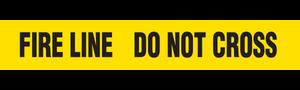 FIRE LINE  - Barricade Tape (Case of 12 Rolls)