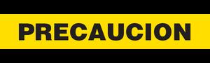 PRECAUCION  - Barricade Tape (Case of 12 Rolls)