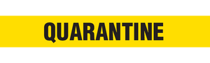 QUARANTINE  - Barricade Tape (Case of 12 Rolls)