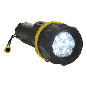 Portwest PA60 LED Rubber Flashlight