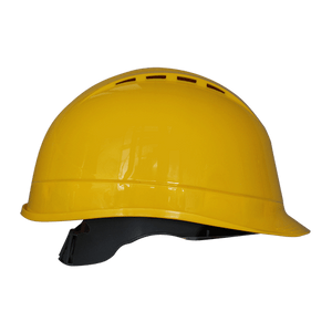 PW Arrow Safety Helmet, Yellow