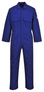 Portwest BIZ1 Flame Resistant Coverall - Royal Blue