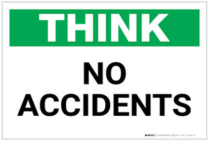 Think: No Accidents - Label