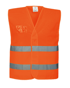 Hi-Vis Mesh Vest, Orange