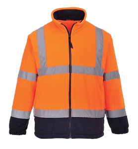 Hi-Vis 2-Tone Fleece, Orange