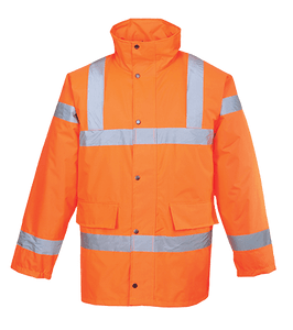 Hi-Vis Traffic Jacket, Orange