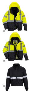 Portwest S365 Hi-Vis 3-in-1 Premium Bomber Jacket