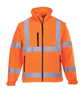 Hi-Vis Softshell Jacket, Orange