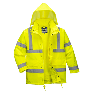 Hi-Vis 4in1 Jacket, Yellow
