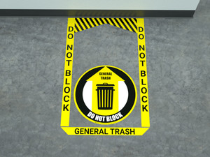 General Trash - Pre Made Floor Sign Bundle