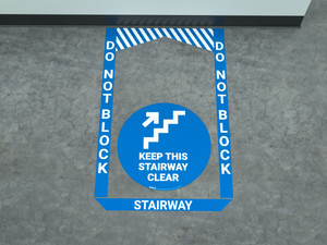 Stairway - Pre Made Floor Sign Bundle
