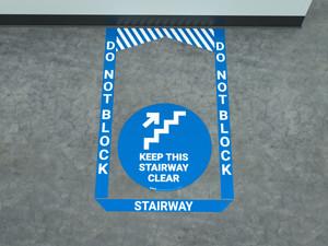 Stairway - Pre Made Floor Sign Bundle