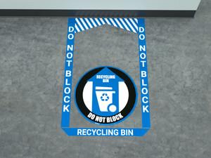 Recycling Bin - Pre Made Floor Sign Bundle