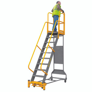 Cotterman Workmaster Super-Duty - Industrial Rolling Ladder