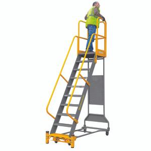 Cotterman Workmaster Super-Duty - Industrial Rolling Ladder