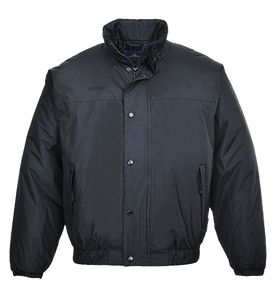 Falkirk Bomber Jacket - Black