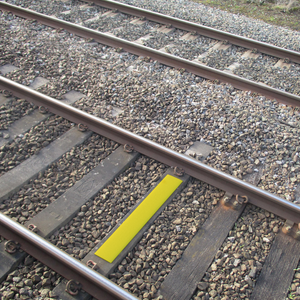 SafetyTac®  2.0 Railroad Track Clearance Marker