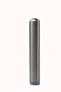 Bolt Down Threaded Bollard - Stainless Steel