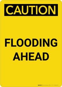 Caution: Flooding Ahead Portrait