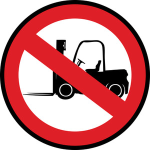 Forklifts Prohibited