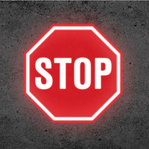 SignCast S300 Virtual Sign - Stop Sign