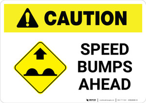 Caution: Speed Bumps Ahead with Icon Landscape