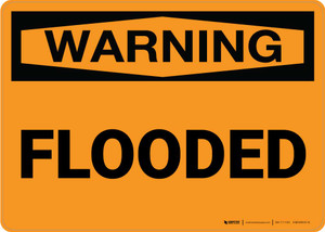 Warning: Flooded Landscape