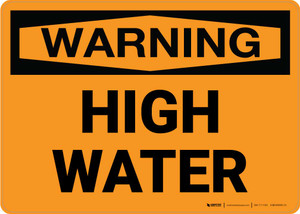 Warning: High Water Landscape
